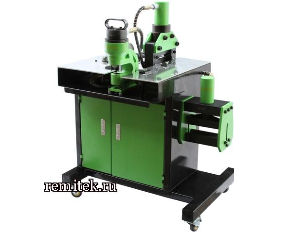 НСГШ-150 Станок гидравлический для обработки шин, медь 150х10 мм - фото 1
