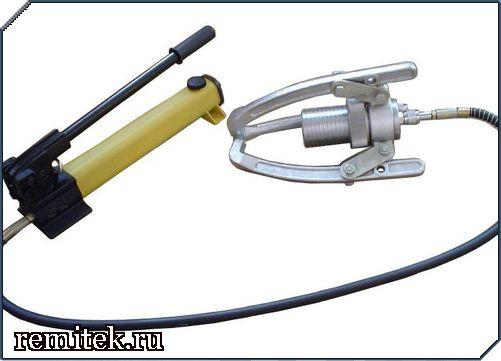 Съемник гидравлический СГ2-30 с выносным насосом - фото 1