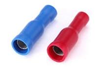 Разъемы штекерные изолированные (мама) РШИ-М 2,5-4 (КВТ)