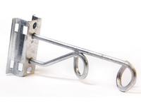 11060 УК-П-02Б (узел крепления двойной поддерживающий), болт, уш. (INSTALL)
