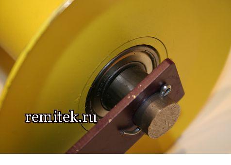 Ролик кабельный прямой РПК-150 - фото 3