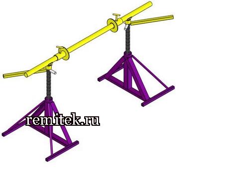 Винтовой кабельный домкрат ДКВ 10-1,5 - фото 1