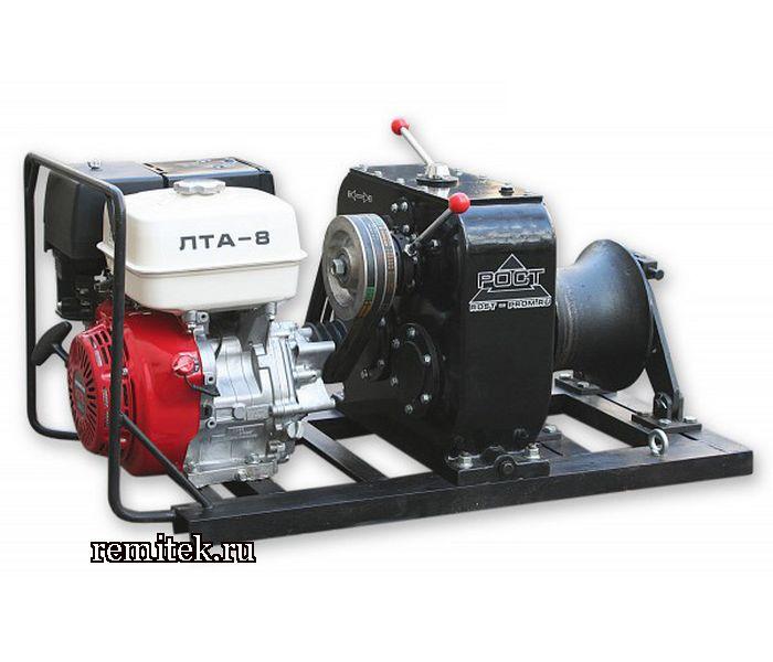 Лебёдка тяговая автономная ЛТА-8 (бензиновая) - фото 1