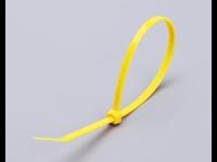 Цветные кабельные стяжки КСС 4x200 (желтые) (100шт.)