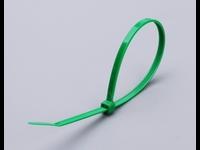 Цветные кабельные стяжки КСС 4x150 (зеленые) (100шт.)
