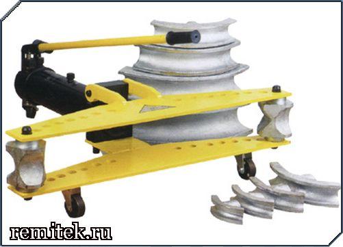 Трубогиб гидравлический ТРГ-3 со встроенным насосом - фото 1