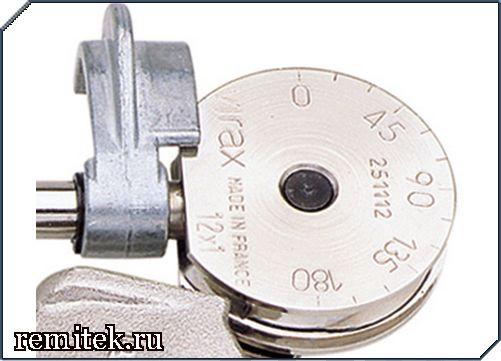 251118 Трубогиб ручной для медной трубы д.18 мм(радиус изгиба 55 мм) - фото 2