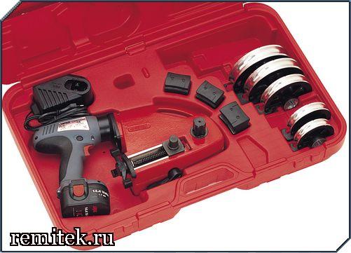 251800 Трубогиб электрический для гибки труб 12; 14; 16; 18; 22 мм, аккумуляторный - фото 2