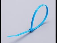 Цветные кабельные стяжки КСС 8x400 (синие) (100шт.)