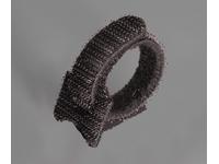 Стяжка-велькро СВ 16x310 (черная)