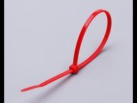 Цветные кабельные стяжки КСС 3x100 (красные) (100шт.)