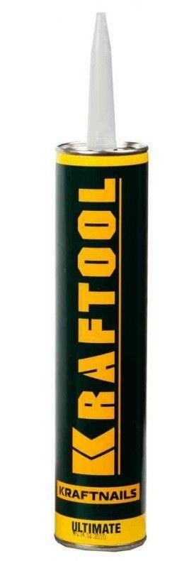 Клей монтажный KRAFTOOL KraftNails Premium KN-901, сверхсильный универсальный, для наружных и внутренних работ, 310мл - фото 1