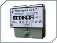 Электросчетчик Меркурий 201.7 1Ф 220В 5-60 А однотарифный ОУ дин.рейка