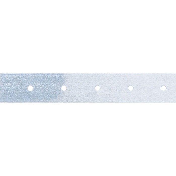Лента тарная, 0,55 мм, LT 2 см х 25 м, цинк, Россия. СИБРТЕХ - фото 1