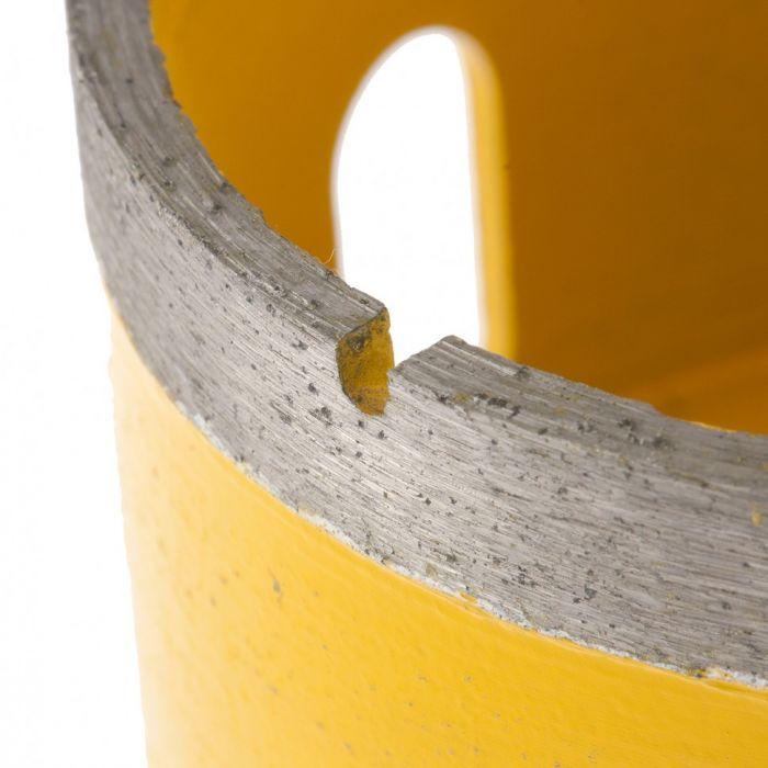 Сверло алмазное по керамограниту, 82 мм, мокрая резка, М14. DENZEL - фото 3