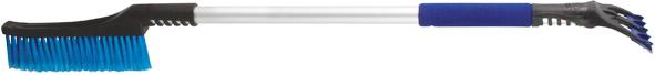 Щетка-скребок для уборки снега 920 мм, трехрядная щетина 230 мм - фото 1