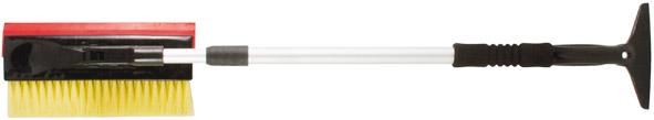 Щетка-скребок для уборки снега 820-1300 мм, телескопич.ручка, щетина 250 мм - фото 1