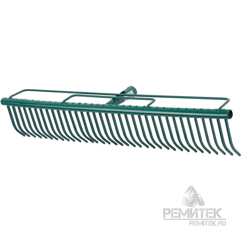 Грабли RACO для очистки газонов, 35 зубцов, 600мм - фото 1