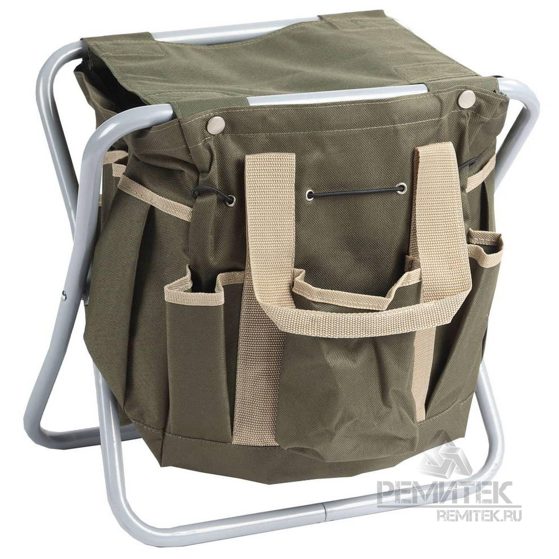 Скамейка GRINDA садовая складная, двухсторонняя, с сумкой - фото 1