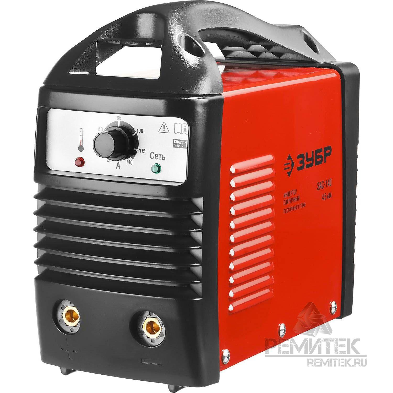 Инвертор ЗУБР сварочный, электр. 1,6-3,2 мм, А20-140, 1*220В - фото 1