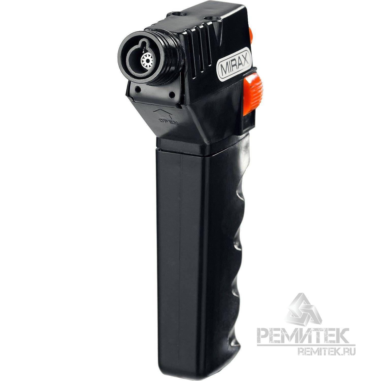 Горелка газовая кассетная, с пьезоподжигом, 1200С - фото 5