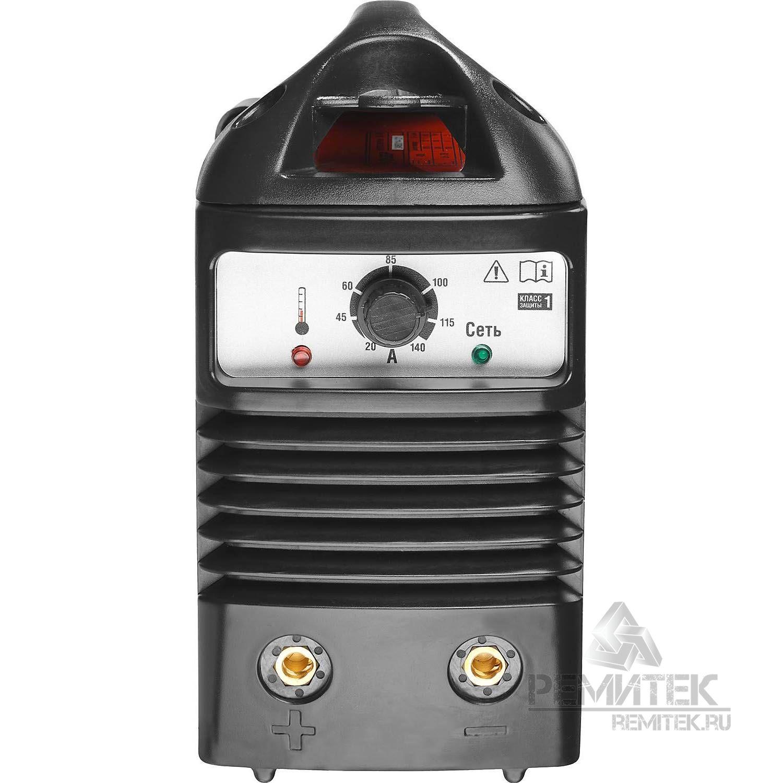 Инвертор ЗУБР сварочный, электр. 1,6-3,2 мм, А20-140, 1*220В - фото 4