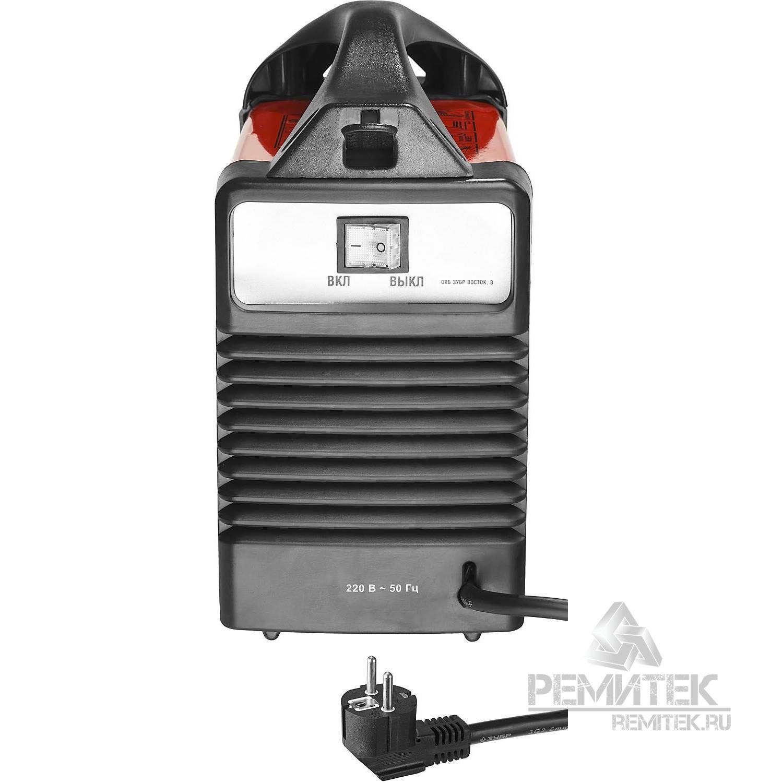 Инвертор ЗУБР сварочный, электр. 1,6-3,2 мм, А20-140, 1*220В - фото 5