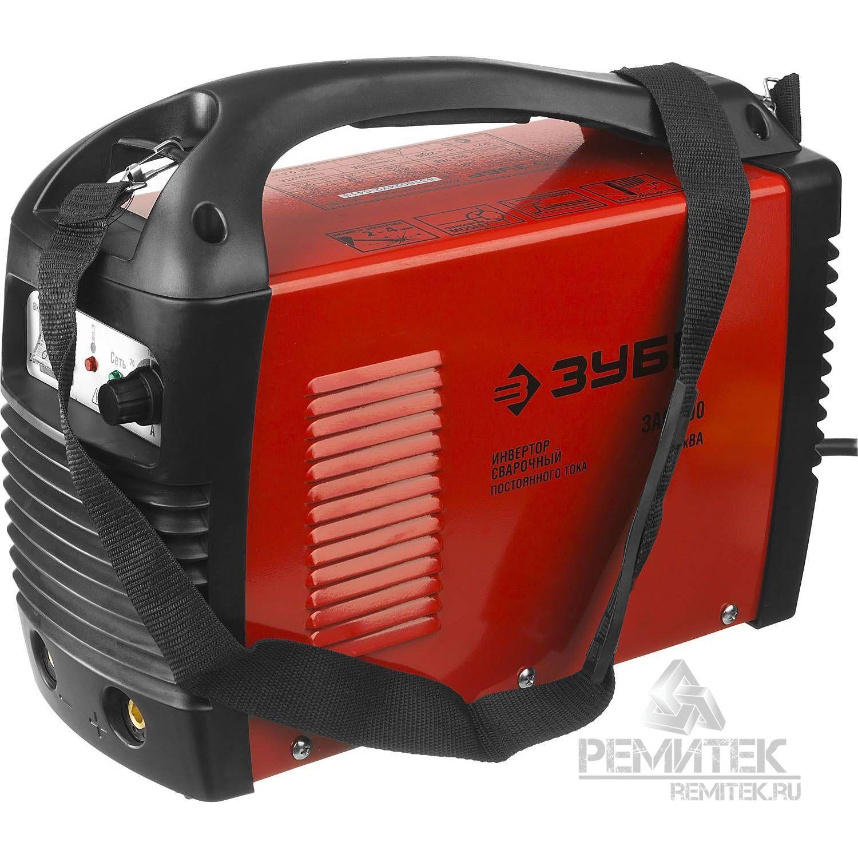Инвертор ЗУБР сварочный, электр. 1,6-3,2 мм, А20-140, 1*220В - фото 7