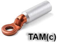 Наконечник кабельный алюмомедный ТАМ(с) сварной