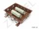 Коробка с зажимами наборными КЗНС-48 УХЛ 1,5 IP65 латунный ввод - фото 2