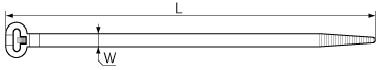 Стяжки КСС стандартные 5*200 ЧЁРНЫЕ (100шт.) в интернет-магазине Электросклад